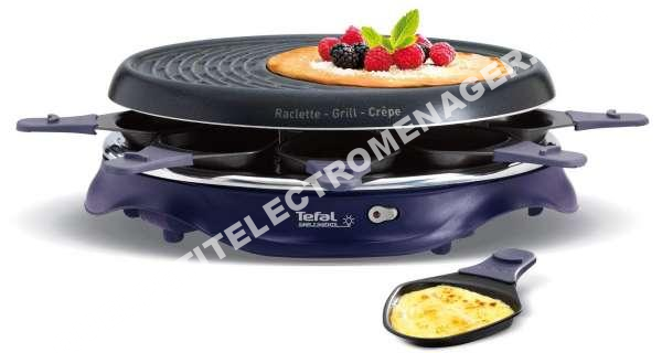 Petit lectrom nager tefal appareil raclette grill - Appareil raclette 12 personnes tefal ...