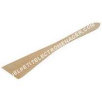 Accessoires<br/> petit électroménager Spatule biseautée hêtre 3 cm