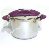 Accessoires<br/> petit électroménager Autocuiseur Inox 8 L Speeo Tir poignées prunes*